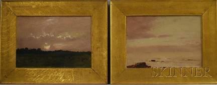 109: Lockwood de Forest (American, 1850-1932) Two Frame