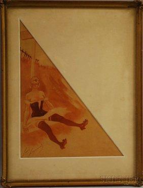Louis Auguste Legrand (France, 1863-1951) Cabaret