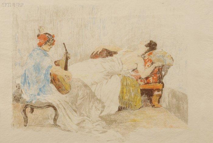 200: Alexandre Lunois (French, 1863-1916) Le Repos des