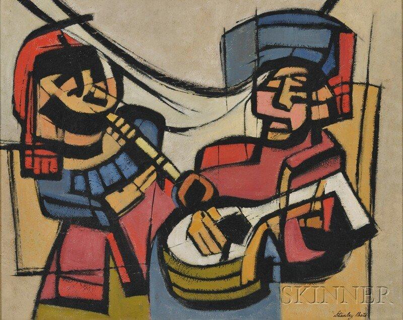 350: Stanley Bate (American, 1903-1972) Musica Antigua.