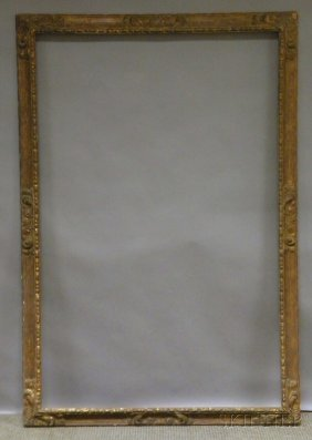 Spanish-style Gilt And Composition Frame, Rabbet 5