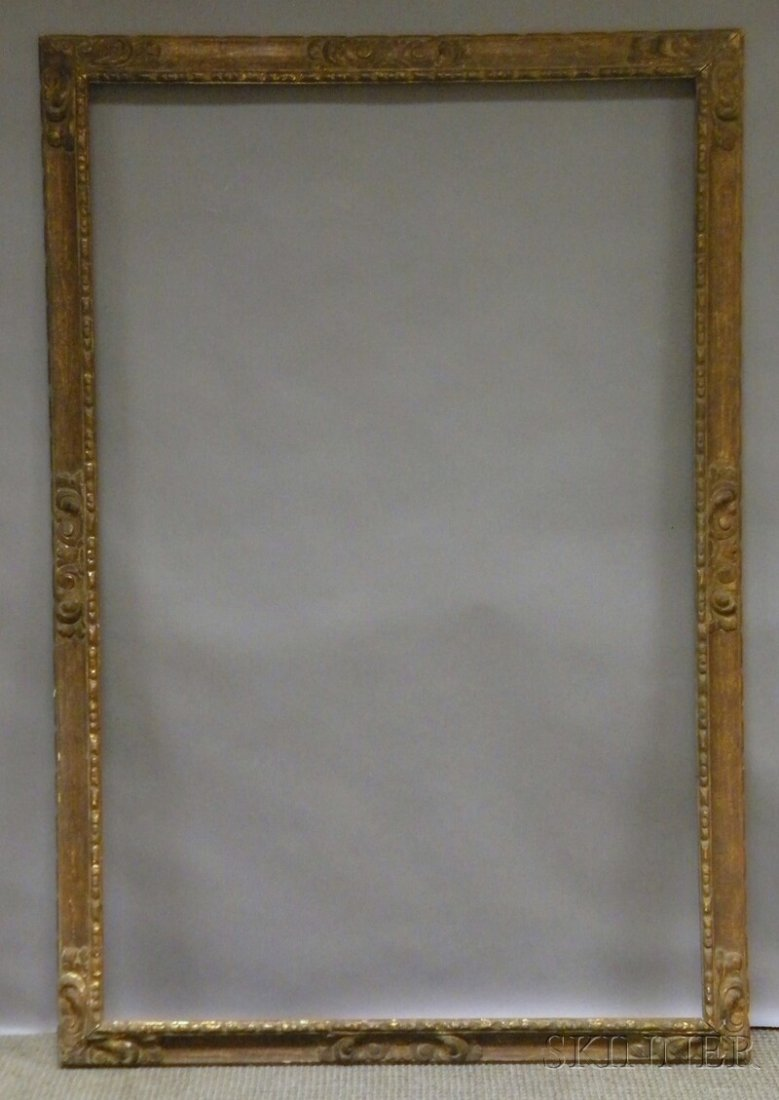 622: Spanish-style Gilt and Composition Frame, rabbet 5