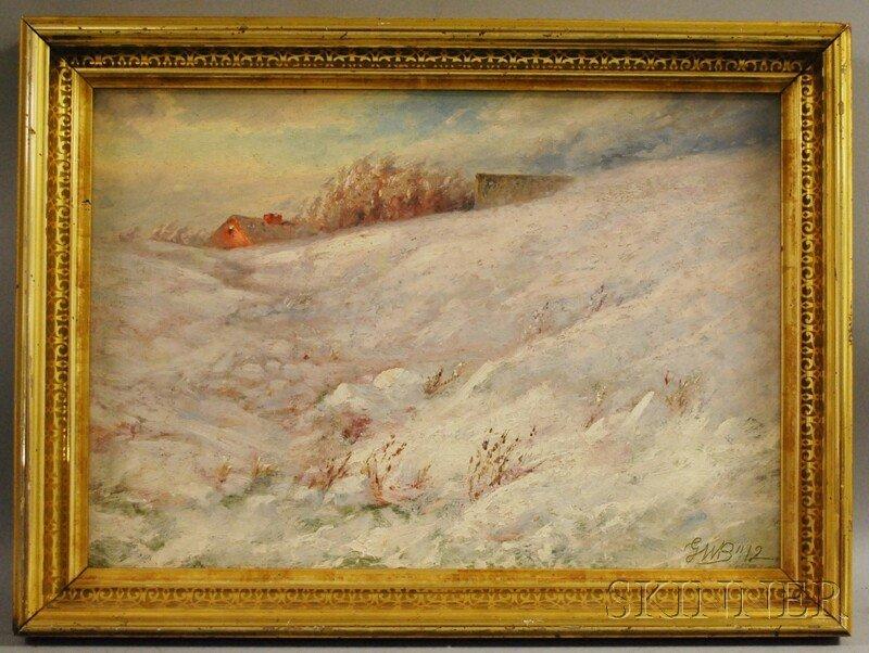 639: Gamaliel Waldo Beaman (American, 1852-1937) Winter