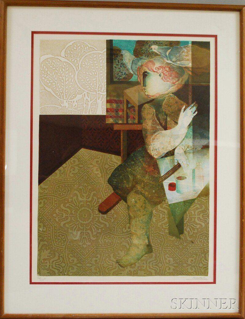 Alvar Sunol Munoz-Ramos (Spanish/French, b. 1935)