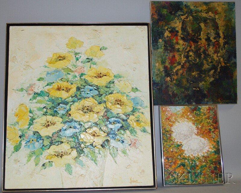 838: Three Works: Robert Falcucci (American, 1900-1982)