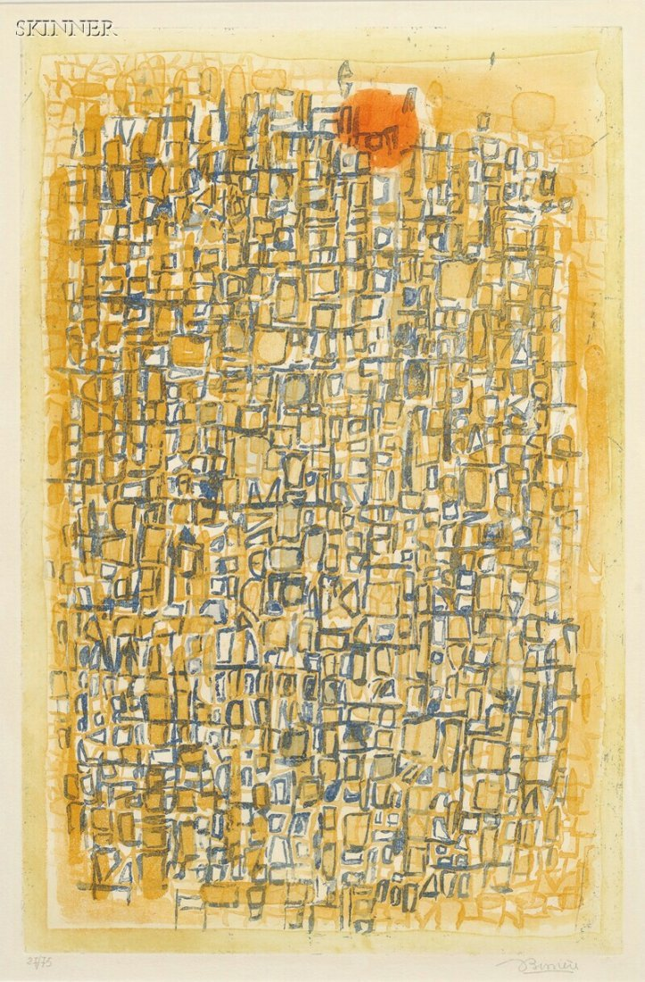 15: Roger Bissière (French, 1886-1964) Untitled, editio