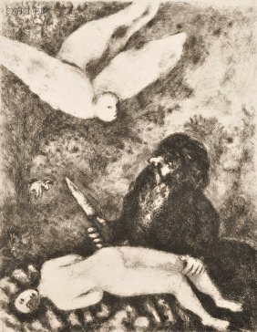 Marc Chagall (French/Russian, 1887-1985) The Sacrif