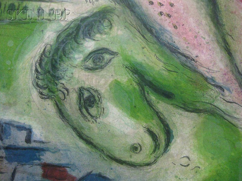 30: After Marc Chagall (Russian/French, 1887-1985) Pari - 10