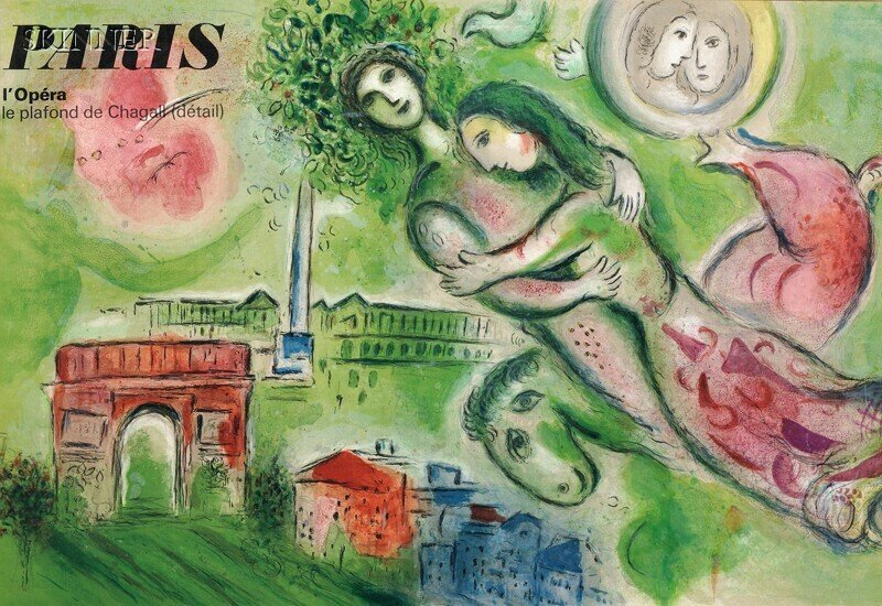 30: After Marc Chagall (Russian/French, 1887-1985) Pari