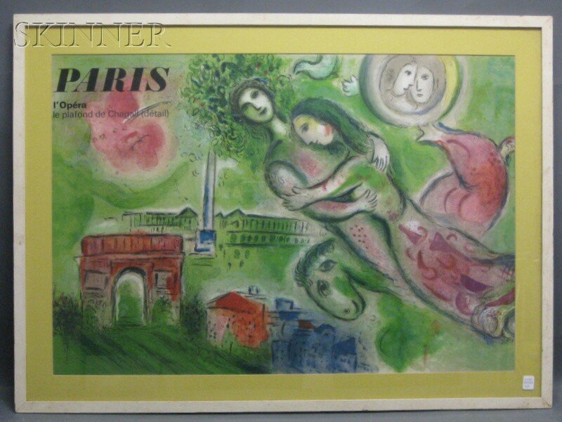 30: After Marc Chagall (Russian/French, 1887-1985) Pari - 2
