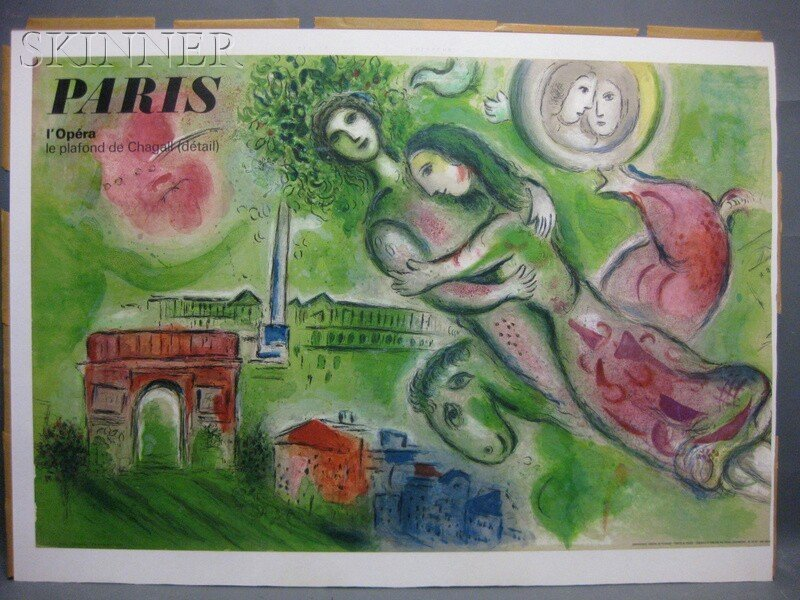30: After Marc Chagall (Russian/French, 1887-1985) Pari - 3