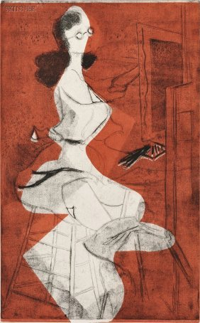 Minna Wright Citron (American, 1896-1991) Men Seldo