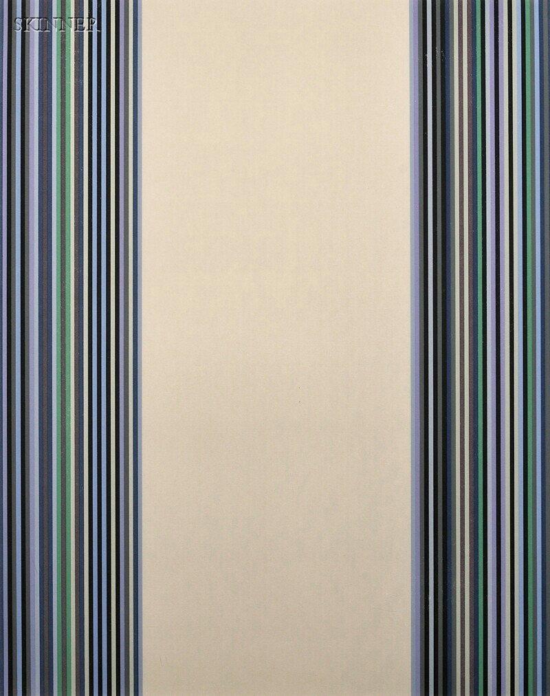 37: Gene Davis (American, 1920-1985) Untitled, 1980, ed