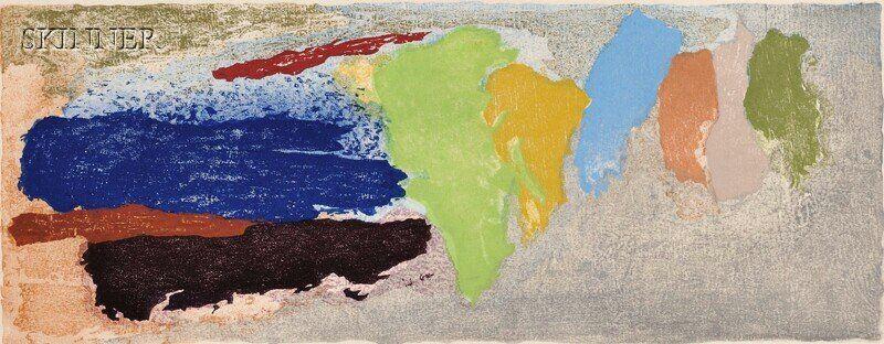 Friedel Dzubas (German/American, 1915-1994) Untitle
