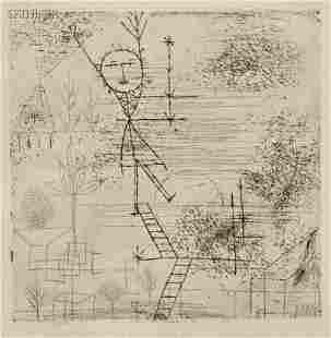"73: Paul Klee (Swiss, 1879-1940) Höhe!, 1928. Signed ""K"