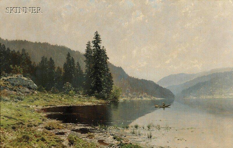 233: Ludvig Skramstad (Norwegian, 1855-1912) From Nordm