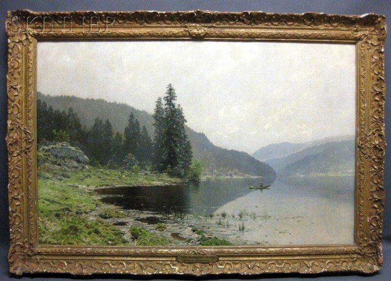 233: Ludvig Skramstad (Norwegian, 1855-1912) From Nordm - 2