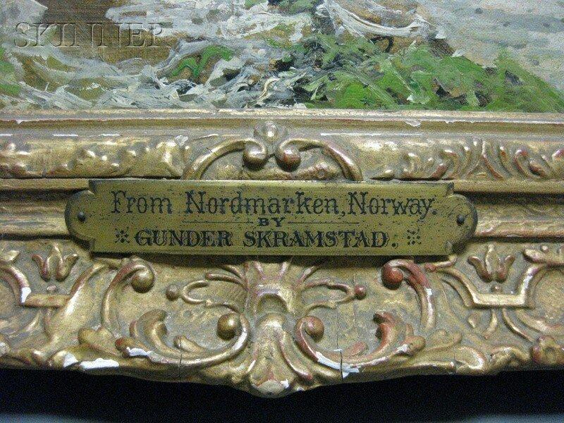 233: Ludvig Skramstad (Norwegian, 1855-1912) From Nordm - 4