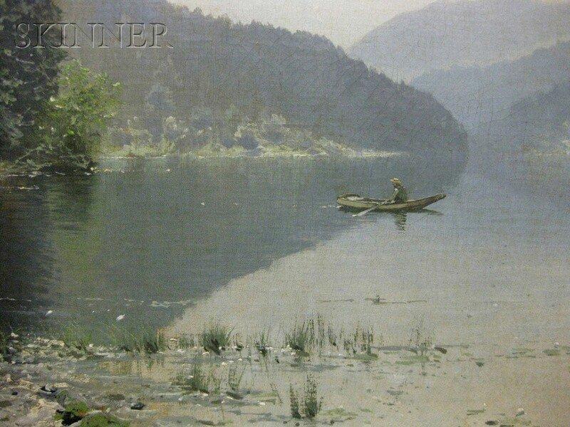 233: Ludvig Skramstad (Norwegian, 1855-1912) From Nordm - 5
