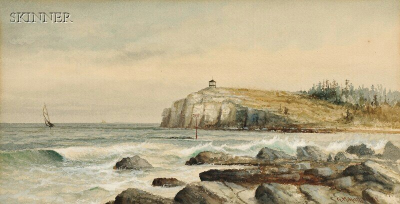 276: George M. Hathaway (American, 1852-1903) View off
