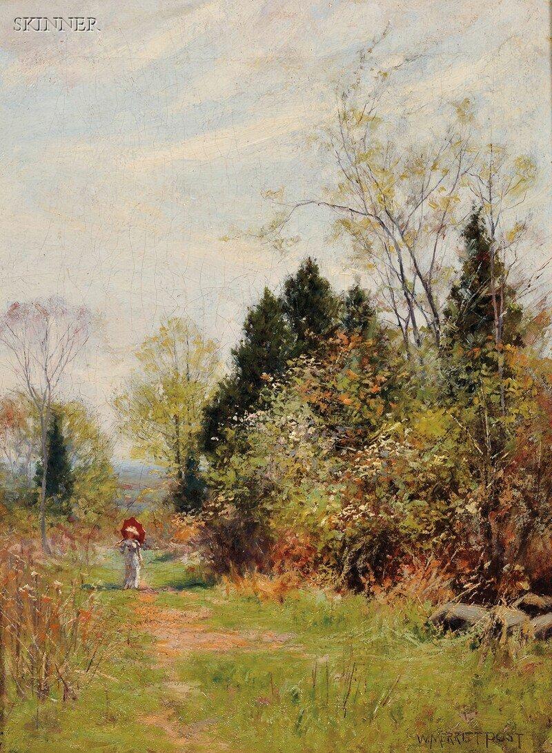 286: William Merritt Post (American, 1856-1935) The Par