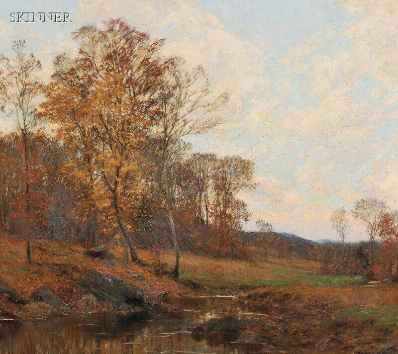287: William Merritt Post (American, 1856-1935) Country