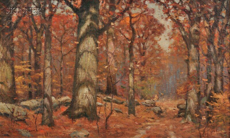 333: Robert Emmett Owen (American, 1878-1957) Wooded La