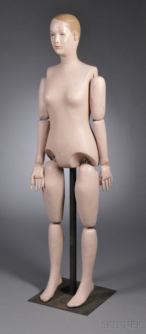 "129: Martha Chase Adult Female ""Sanitary Doll,"" Pawtuck"