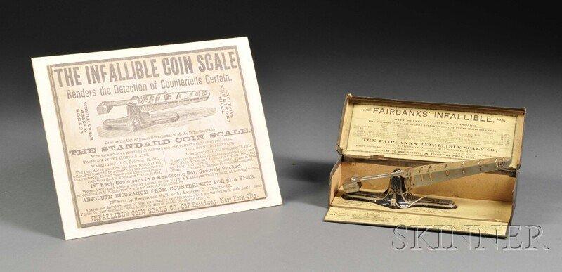 136: Fairbanks' Infallible Counterfeit Coin Detector, B