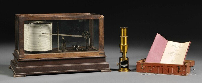 143: Taylor Instrument Barograph and a Three-Power Comp