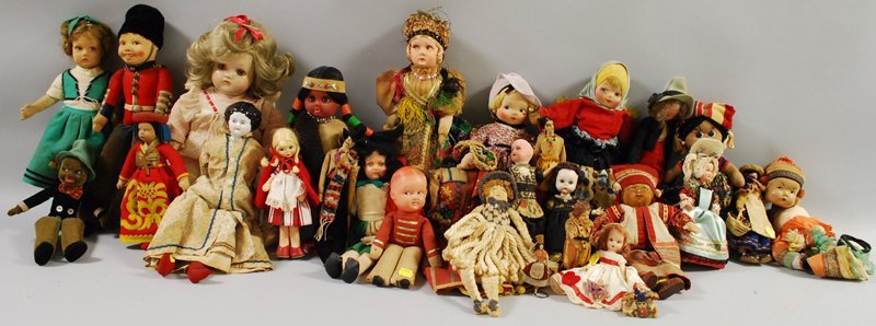4: Approximately Thirty Miscellaneous Dolls, including