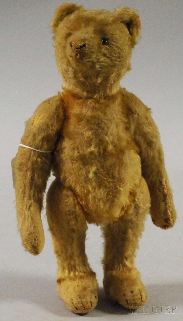 7A: Small Steiff Mohair Bear, Germany, c. 1915, golden