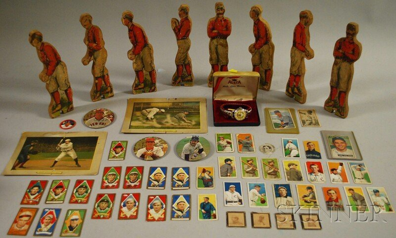 355: Assorted Late 19th and Early 20th Century Baseball