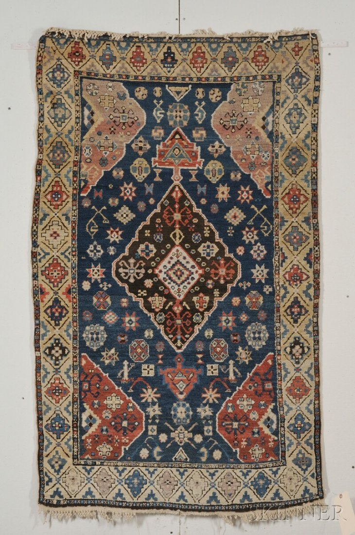 696: Kuba Rug, Northeast Caucasus, late 19th century, (