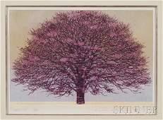 348: Hajime Namiki (Japanese, b. 1947), Tree Scene 60,