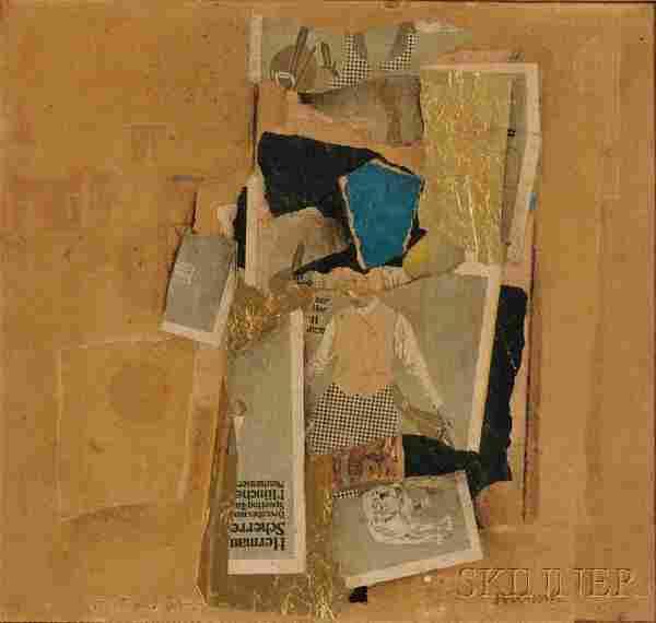 William Klenk (American, b. 1930), Untitled, Signe