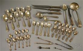 91: Group of Assorted Sterling Silver Flatware, includi