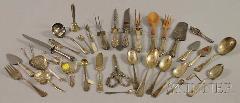 142: Group of Miscellaneous Sterling Silver Flatware, i