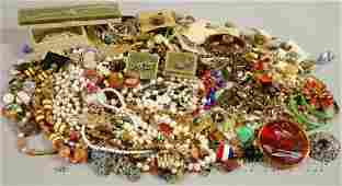 365: Group of Mostly Costume Jewelry, including beaded
