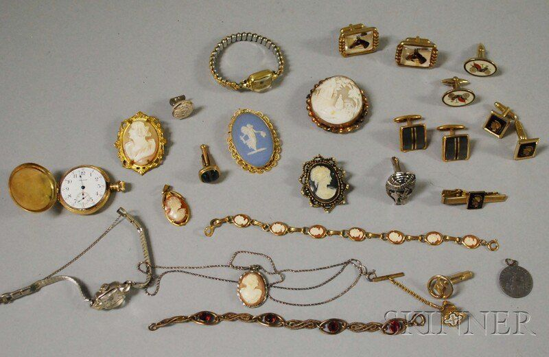 Small Group of Vintage and Costume Jewelry, includ