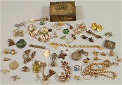 553: Small Group of Mostly Sterling Silver Jewelry, inc