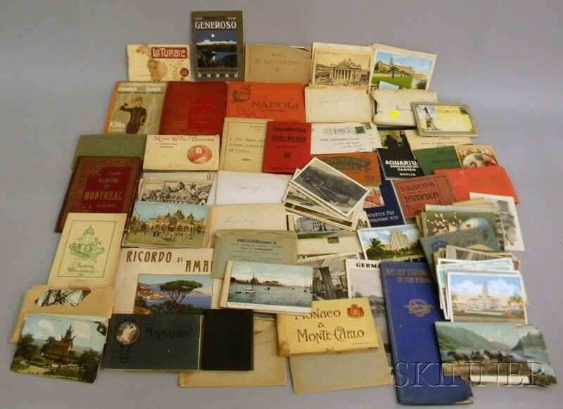 712: Collection of Early 20th Century Postcards, and Tr