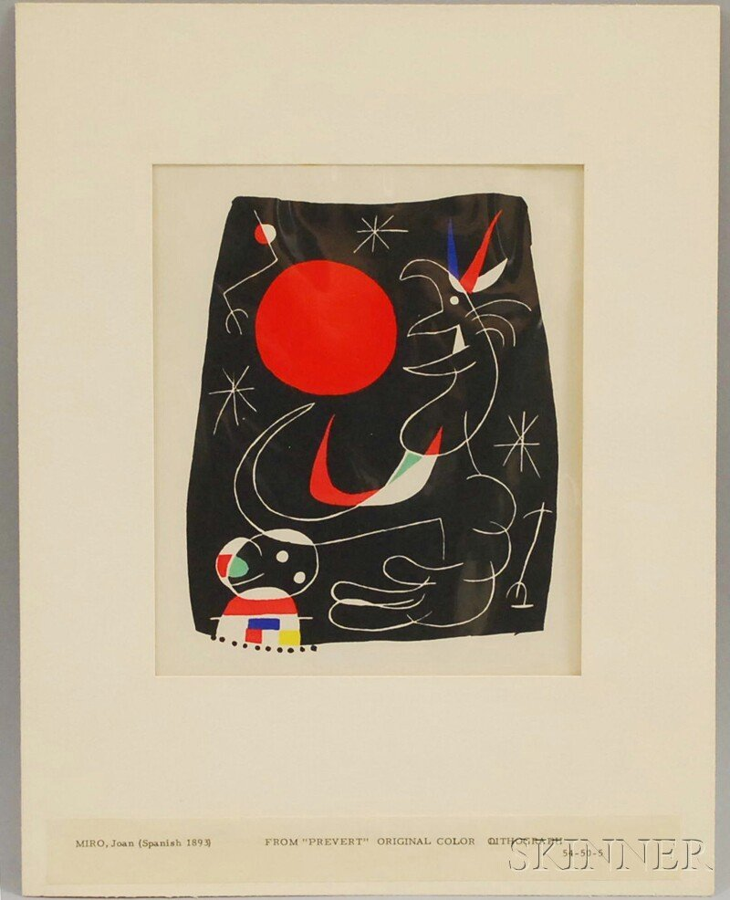 14: Joan Miró (Spanish, 1893-1983) Images from JOAN MIR
