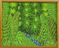 321: Henri Robert Bresil (Haitian, 1952-1999) The Jungl