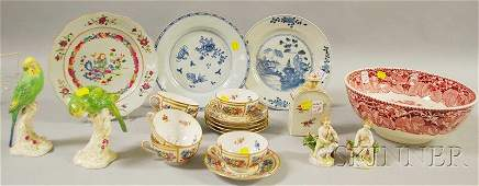 1298 Twenty Pieces of Assorted Decorated Porcelain and