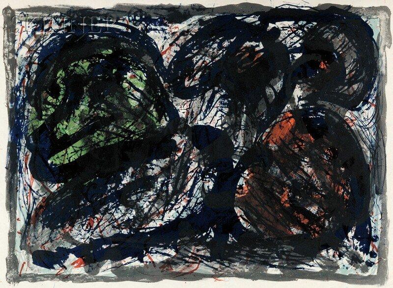 Pierre Alechinsky (Belgian, b. 1927) Untitled, 1963 (se