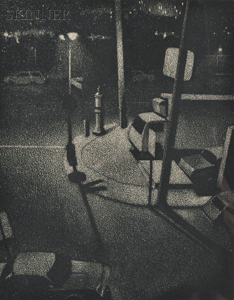 William J. Behnken (American, b. 1943) Three Nocturnes: