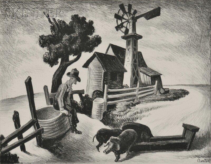 Thomas Hart Benton (American, 1889-1975) In the Ozarks,