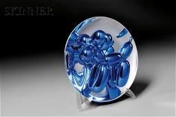Jeff Koons American b 1955 Balloon Dog Blue 2002