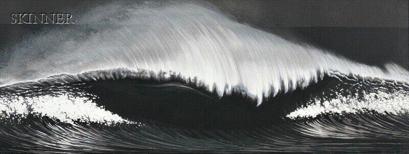 Robert Longo (American, b. 1953) The Wave, 2003, editio
